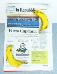 'Forza Capitana' (and other newspaper dreams)